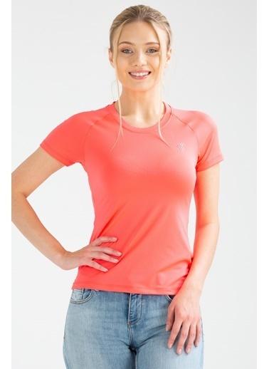 Speedlife Bead Kadın Tişört Fuşya